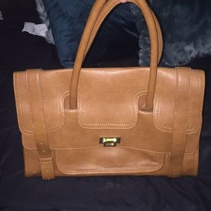 brown/tan purse